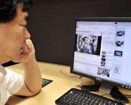 Japan has a broadband penetration 24.9 percent