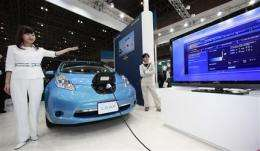 Japan looking to sell 'smart' cities to the world (AP)