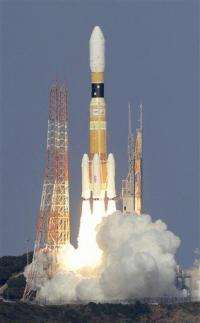 Japan rocket ferrying supplies to space station (AP)