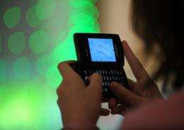 Just under 25 percent of US households -- 24.5 percent -- reported having only a mobile phone