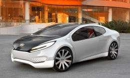 Kia unveils plug-in hybrid concept car