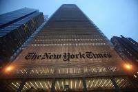 Like other US newspapers, the Times has been struggling with a steep decline in print advertising revenue