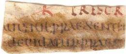 Lost Roman law code discovered in London