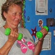 Lymphedema risk after breast cancer treatment reduced with weightlifting
