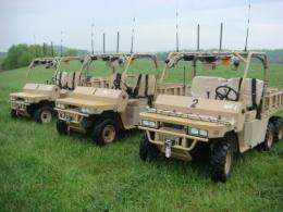 Marines to use autonomous vehicles built by Virginia Tech engineering students using TORC products