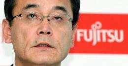 Masami Yamamoto, President of Japan's computer services firm Fujitsu