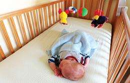 Message Bears Repeating: Back Sleep Best for Babies