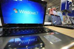 """Microsoft released an emergency patch for a """"critical"""" crack in Windows operating system software"""
