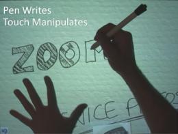Microsoft's 'Manual Deskterity' Enhances User Touchscreen Experience (w/ Video)