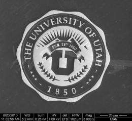 Engineer shrinks 'U' logo