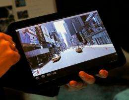 Motorola's Xoom hopes to beat the iPad by offering front- and rear-facing cameras and playing Adobe Flash video software