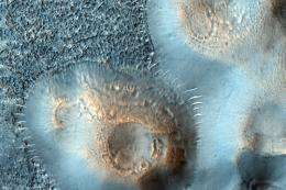 Mud Volcanoes on Mars