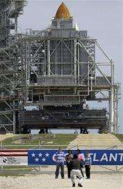 NASA: All on track for Friday launch of Atlantis (AP)