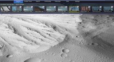 NASA and Microsoft Provide Mars 3-D Close Encounter