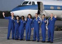 NASA begins countdown for Monday's shuttle launch (AP)