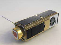 NASA nanosatellite studies life in space, demonstrates technology