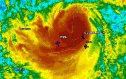 NASA's Armada of Research Aircraft Monitor Hurricane Karl