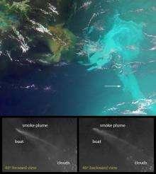 NASA's MISR Provides Unique Views of Gulf Oil Slick