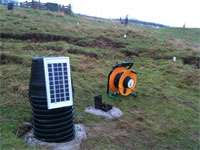 New early warning system for landslide prediction