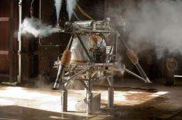 New robotic lander tested at historic test site