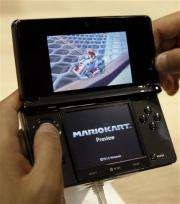 Nintendo sinks into the red for first half (AP)