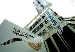Nokia Siemens to buy Motorola wireless gear unit (AP)