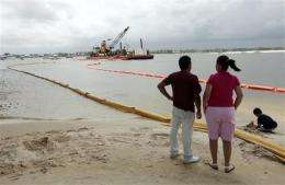 Oil spill stirs study, debate over health impacts (AP)