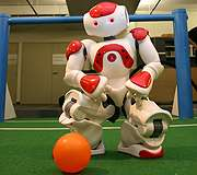 Our (robot) soccer heroes