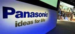 Panasonic posted a net loss of 103.47 billion yen (1.1 billion dollars)