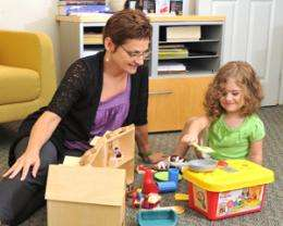 Parent-child play therapy relieves depression in preschoolers