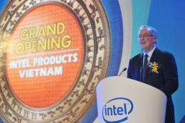 Paul Otellini, chief executive of Intel