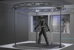 PETMAN robot to closely simulate soldiers
