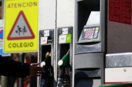 Petrol stations pollute their immediate surroundings