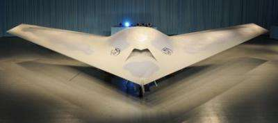 Phantom Ray unmanned aircraft makes its debut