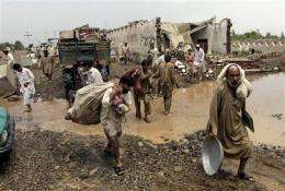 Risk of disease rises amid deadly Pakistan floods (AP)