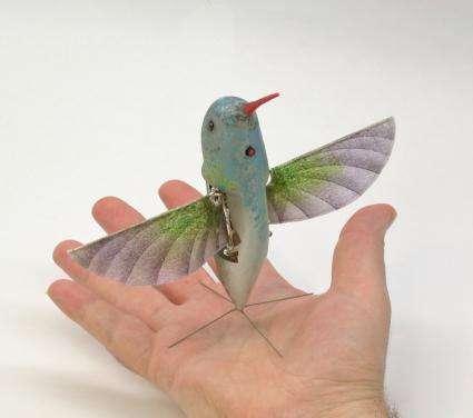 Robot hummingbird passes flight tests (w/ Video)