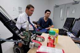 Robotic arm's big flaw: Patients say it's 'too easy'