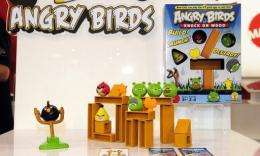 Rovio Movile's Angry Birds mobile game to be made into cartoon