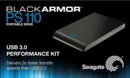 Seagate Super Speeds Transfer Rates With USB 3.0 External Portable Hard Drive