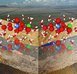 Seeing diffusion from the atom's perspective