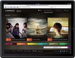 Starbucks hopes free songs, e-books lure customers (AP)