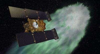 Stardust celebrates twelve years with rocket burn