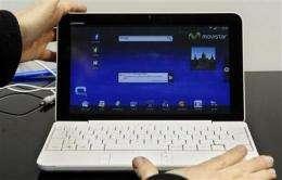 Tablets, smartbooks aim to fill PC-phone gap (AP)