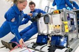 Teams selected for 'Fly Your Thesis!' 2010 microgravity programme