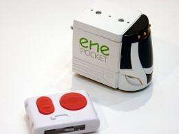 The 'Ene Pocket' toy car runs on sugar