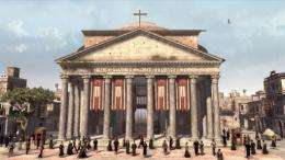 The Pantheon will be part of the backdrop for the game's latest instalment