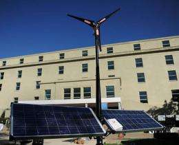 The Pentagon is pushing to develop renewable energy solutions