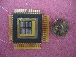 MEMS device generates power from body heat