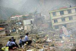 The Sichuan earthquake in China in 2008 left 87,476 people dead