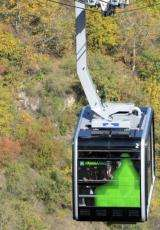 The world's longest cable car line has opened in Armenia